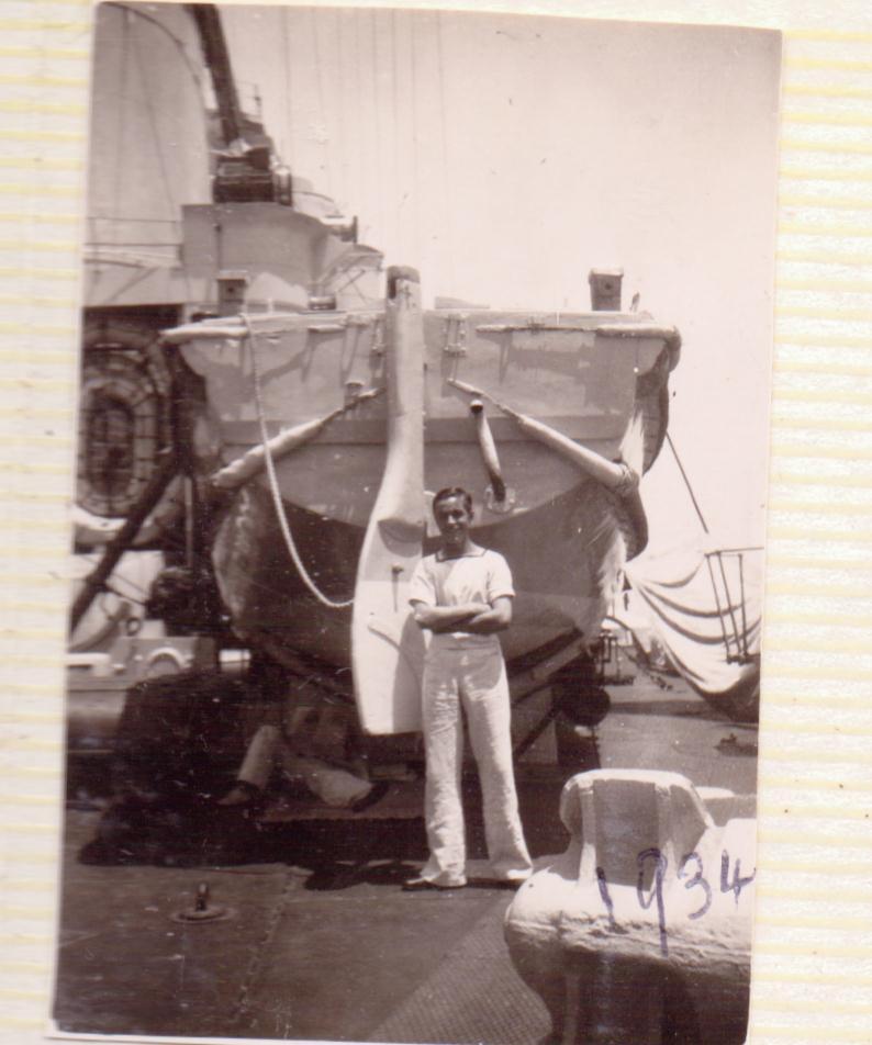 The men who died in HMS Triumph in 1942